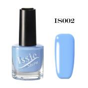 15ml IssieShow Solid Colour Nail Polish Fast Dry Long Effect Nail Art Nail Polish