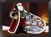 5D DIY Diamond Painting kit Rhinestone Embroidery Cross Stitch Full Drill Arts Craft for Christmas Home Wall Decor, Santa Claus
