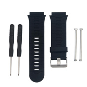Outsta for Garmin Forerunner FR 920xt GPS Soft Silicone Replacement Wrist Watch Band Black