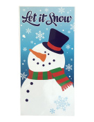 Flomo Christmas Funny Door Cover Snowman for Party Favours and Decorations