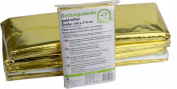 Emergency Blanket (Pack of 200 Gold Silver Thermal Film Pack of 160 x 210 cm