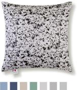 M Cushion 46cm Ultimate Comfort Soothing Shiatsu Massage Cushion With Optional Heat And Memory Foam, Grey Granite