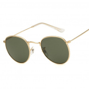 KaiCran New Sunglasses For Men Women Square Vintage Mirrored Sunglasses Eyewear Outdoor Sports Glasses