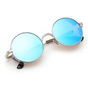KaiCran women Men Vintage Retro Round Gradient Colour Glasses Unisex Sunglasses