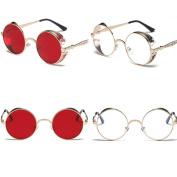 KaiCran Fashion Sunglasses For women Summer Vintage Retro Round Gradient Colour Glasses Unisex Sunglasses