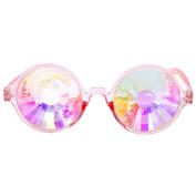 KaiCran Kaleidoscope Glasses Kaleidoscope Colourful Glasses Rave Festival Party EDM Sunglasses Diffracted Lens