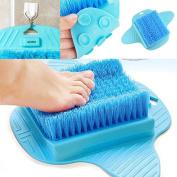 Foot Scrubber Foot Brush Bristles Deep Clean Massage Exfoliate & Stimulate Feet