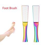 KaiCran Fashion Foot Rasp File Pedicure Callus Remover Hard Dead Skin Scrubber Foot Brush