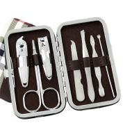 Travel Manicure Set Men, Premium Pedicure & Manicure Kits Best for Men & Women, Professional Stainless Steel Nails Cutter Kit