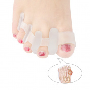 Welnove Toe Separators for Bunions Hallux Valgus Toe Spacer Pain Relief for Men and Women(1Pair)