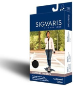 Sigvaris Women's Cushioned Cotton 15-20mmHg Closed Toe Knee High Sock 142C Size