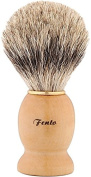 Fento Badger Hair Shaving Brush, Yellow, 45ml