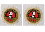 Col. Conk Worlds Famous Shaving Soap, Bay Rum (Net Weight 130ml) - Two Pack
