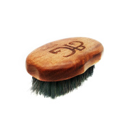 Rose Wood Grooved Boars Hair Beard Brush | Hand Made For Optimum Comfort & Grip