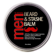 Beard Balm for Men Care - Leave in Beard Conditioner, Heavy Duty Beard Wax, Moustache Butter & Softener - for Styling, Shaping, Grooming & Growth