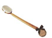 La Bella Provincia Deluxe Wooden Body Brush With Natural Bristles