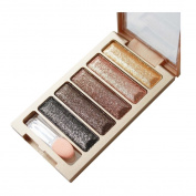 Dingji New 5 Colour Glitter Make Up Eyeshadow Makeup Eye Shadow Palette