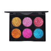 Dingji Shimmer Glitter Eye Shadow Powder Palette Matte Eyeshadow Cosmetic Makeup Sets