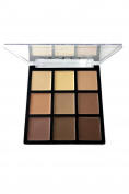 Womens Defining Cream Face Foundation Palette 9 colours KL175