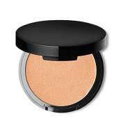 Glow with this Illuminating Powder Highlighter in Medium 02 with natural radiance and multi-dimensional luminosity