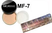 Mica Beauty Mineral Foundation MF-7 Lady Godiva +Mica Beauty 5 stacks Eye Shimmer Candy Cotton