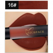. Snowfoller New 18 Colours Lip Matte Liquid Lipstick Waterproof Lip Gloss Makeup