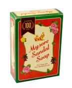MYSORE SANDAL Premium Soap 75gm Natural Sandalwood Herbal oil