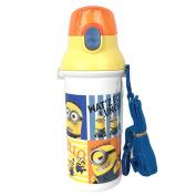 Dishwasher-adaptive direct drink plastic one-touch bottle 387555 (PSB5SAN) 480 ml minion / phantom thief / water bottle / kids / lunch goods / lunch goods / skater