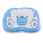 Baby pillow Newborn Baby Boy Girl Anti-roll Pillow to Preventing Protector Birth Flat Head Syndrome Infant Baby Support Cushion Pad Suitable for Newborn to 1 year Old Babies
