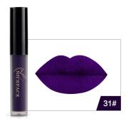 Bescita 8Colors Halloween Style Lip Lingerie Matte Liquid Lipstick Waterproof Lip Gloss Makeup