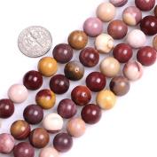 Sweet & Happy Girl'S Store 10mm Round Gemstone Mookaite Jasper Beads Strand 38cm Jewellery Making Beads