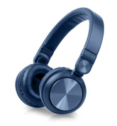 Muse 276 BTB Bluetooth Wireless Stereo Over-Ear Headphones, Hands-Free Function, with USB and AUX Cable
