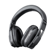 Bluetooth Headphones Over Ear APT-X Hi-Fi Stereo Sound Wireless Bluetooth 4.1 Headset Foldable Memory Protein Earmuffs with Mic Wired Mode Multi-point
