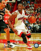 Dwyane Wade Miami Heat 2012-2013 NBA Action Photo #4 8x10