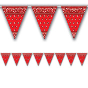 Bandana Pennant Banner Party Accessory