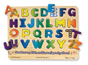 Melissa & Doug Alphabet Sound Puzzle - Wooden Puzzle With Sound Effects