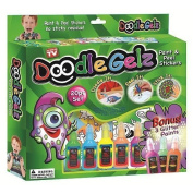Doodle Gelz Paint and Peel Stickers