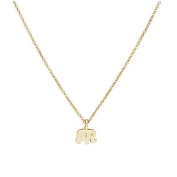 HENGSONG Elephant Necklace Pendant Necklace With Message Card Chain Necklace Jewellery Gifts