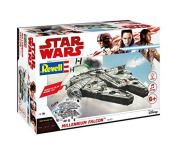 Revell Star Wars Episode VIII Build & Play Millennium Falcon, With Lights & Sounds