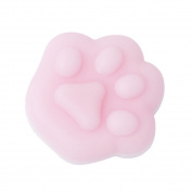 Squeeze Toys, Gluckliy Creative Stress Relief Kawaii Cat Paw Squishy Slow Rising Funny Soft Toy for Children and Adult Gift, Pink
