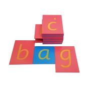 Sandpaper Letters - Lower Case Sassoon