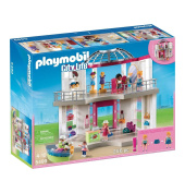 Playmobil City Life Toy - Shopping Centre Fashion Boutique 256 Piece Playset - Includes 4 Figures