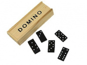 Wooden Dominoes In Slide Top Box (D65100) *Only ONE Piece Supply*