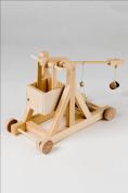 The Trebuchet - Timberkits Self-Assembly Wooden Construction Moving Model Kit