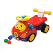 Winfun 0818-NL Richmond Toys Walker Ride on Popping Car, Multi-Colour