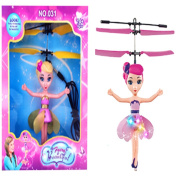 Flying Fairy Helicopter With LED Light