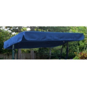 Royal Blue Water Resistant 2 Seater Replacement Canopy ONLY for Swing Seat/Garden Hammock