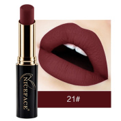 24 Colours Lip Glosses Professional Girls Cosmetics Lipstick Long-lasting for Women by TOPUNDER B