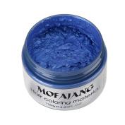 YJYdada 2017 DIY Hair Clay Wax Mud Dye Cream Grandma Ash Temporary Hair Dye for Men Women