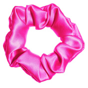 100% Silk Premium Satin Scrunchies 3 Sizes Many Colours Ponytail Holders Scrunchie King Made in the USA